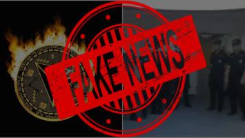 Trons police raid fake news