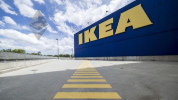 World first invoice Ikea smart contrcts